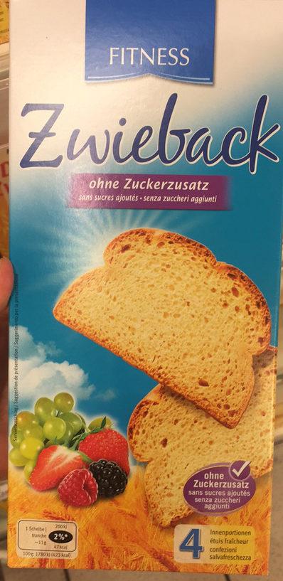 Fitness Zwieback - Product - fr