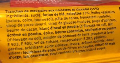 Taragona - Ingrediënten - fr