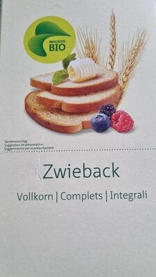 Zwieback complets - Produit - fr