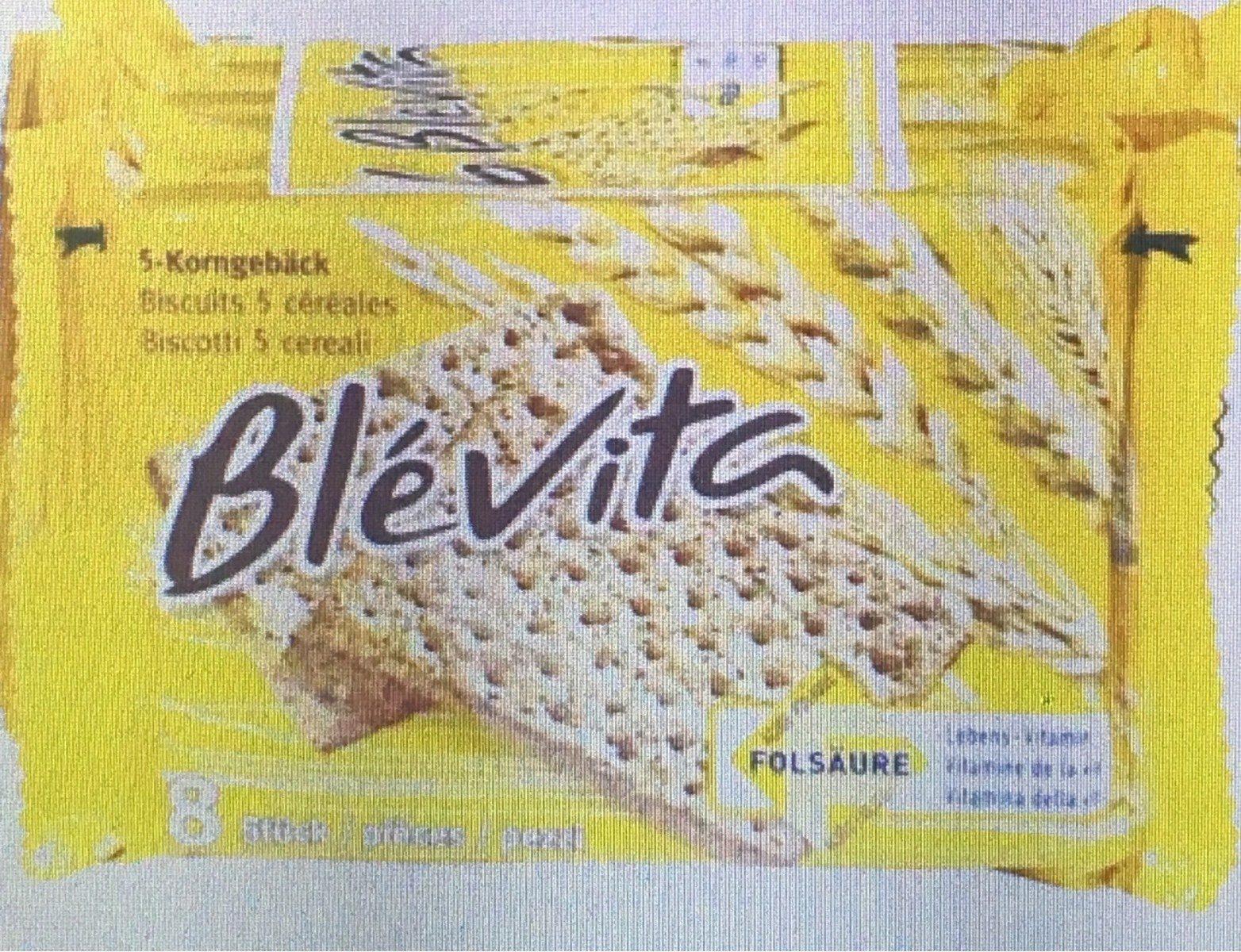 Biscuits 5 céréales - Produit - fr