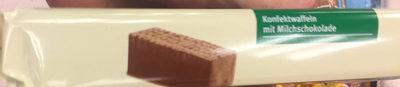 Gaufrettes avec Chocolat au Lait - Produkt