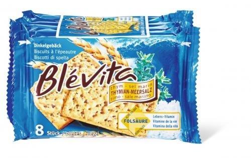 Biscuits Blévita Thym-sel marin. - Produit