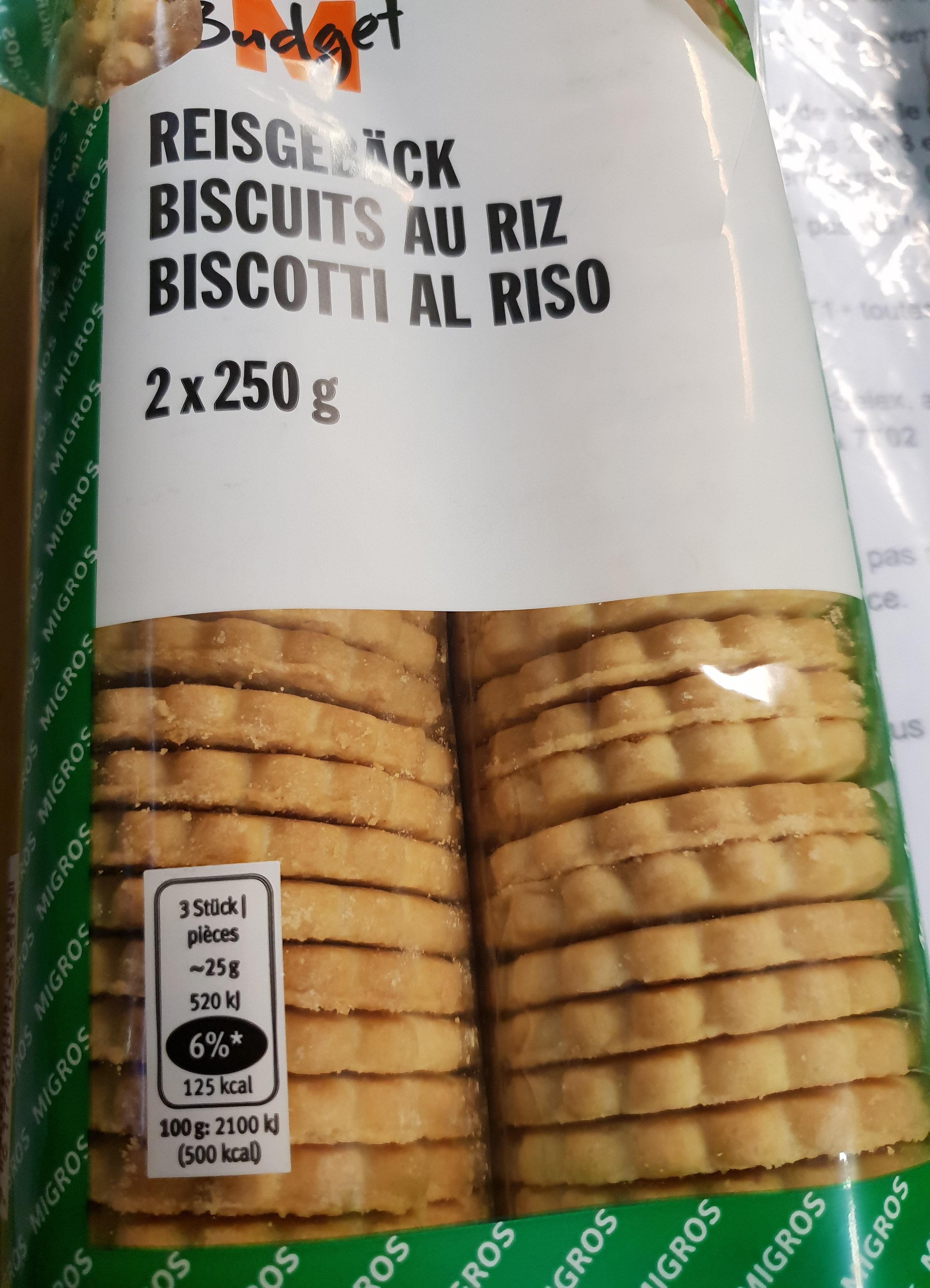 Biscuits au riz - Prodotto - fr