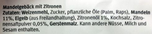 Zitronenherzli - Ingrediënten - de