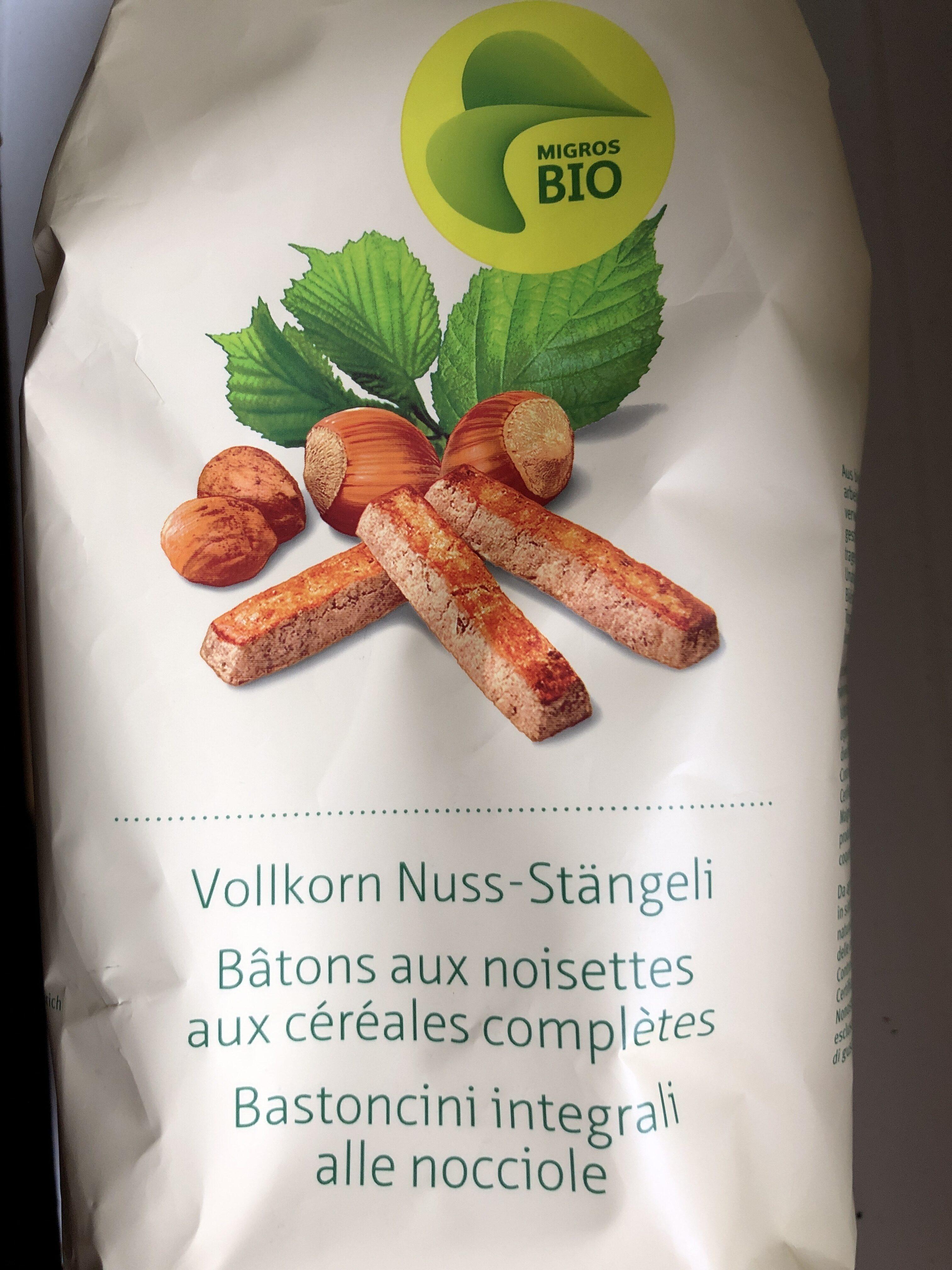 Bâtons aux noisettes aux céréales complètes - Produit - fr