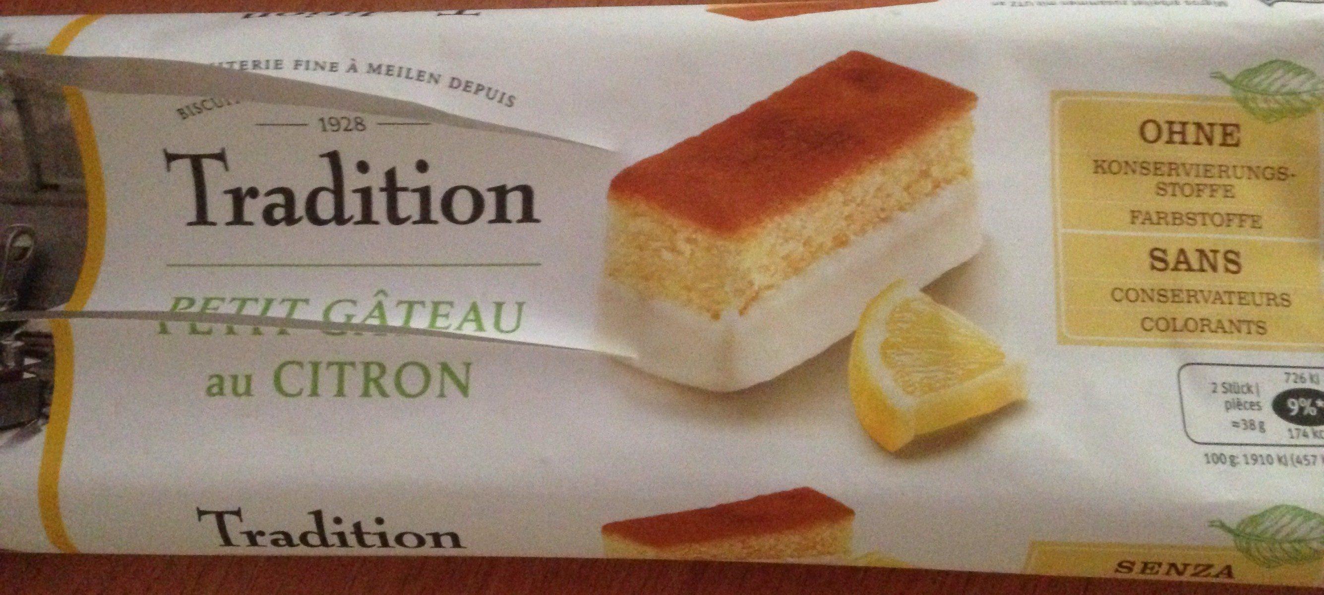 Petit gâteau au citron - Product