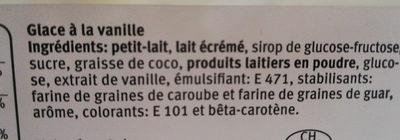 Vanille - Ingredients - fr