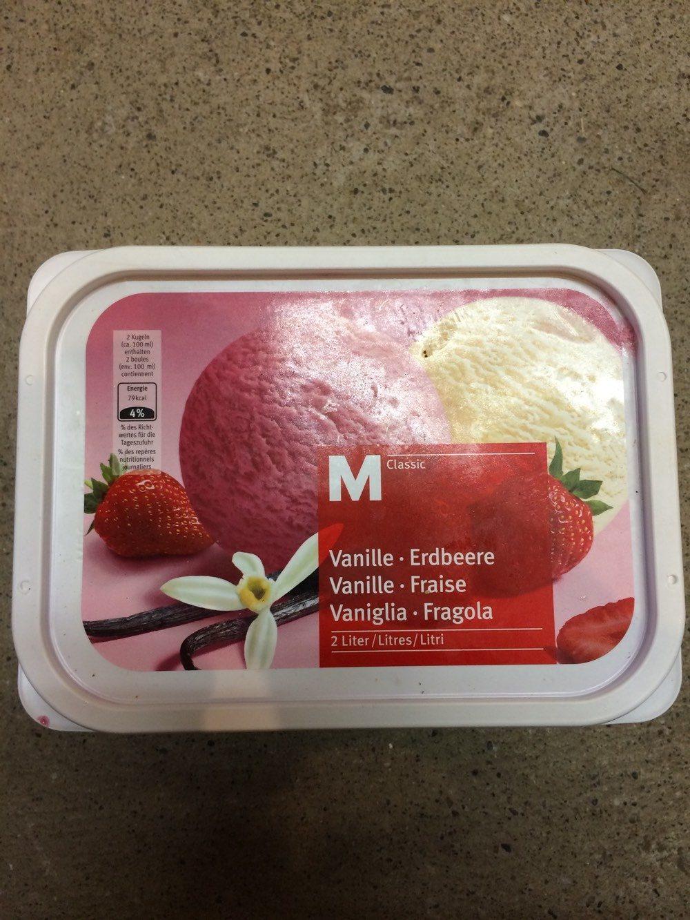 Glace vanille fraise - Prodotto - fr