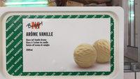 Glace a l'arome de vanille - Product