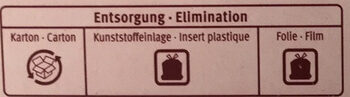 Japonais Ice Cake - Recycling instructions and/or packaging information - fr