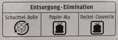 Vanille 8x - Istruzioni per il riciclaggio e/o informazioni sull'imballaggio - fr