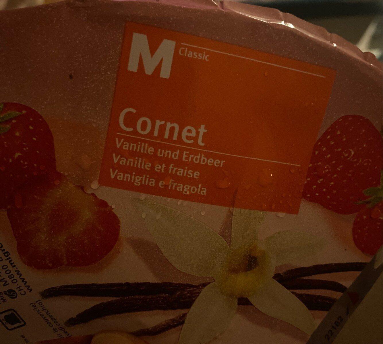 Cornet Vanille et fraise - Product