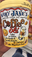 Mary-Jane's American style ice cream Coffee olé - Produit