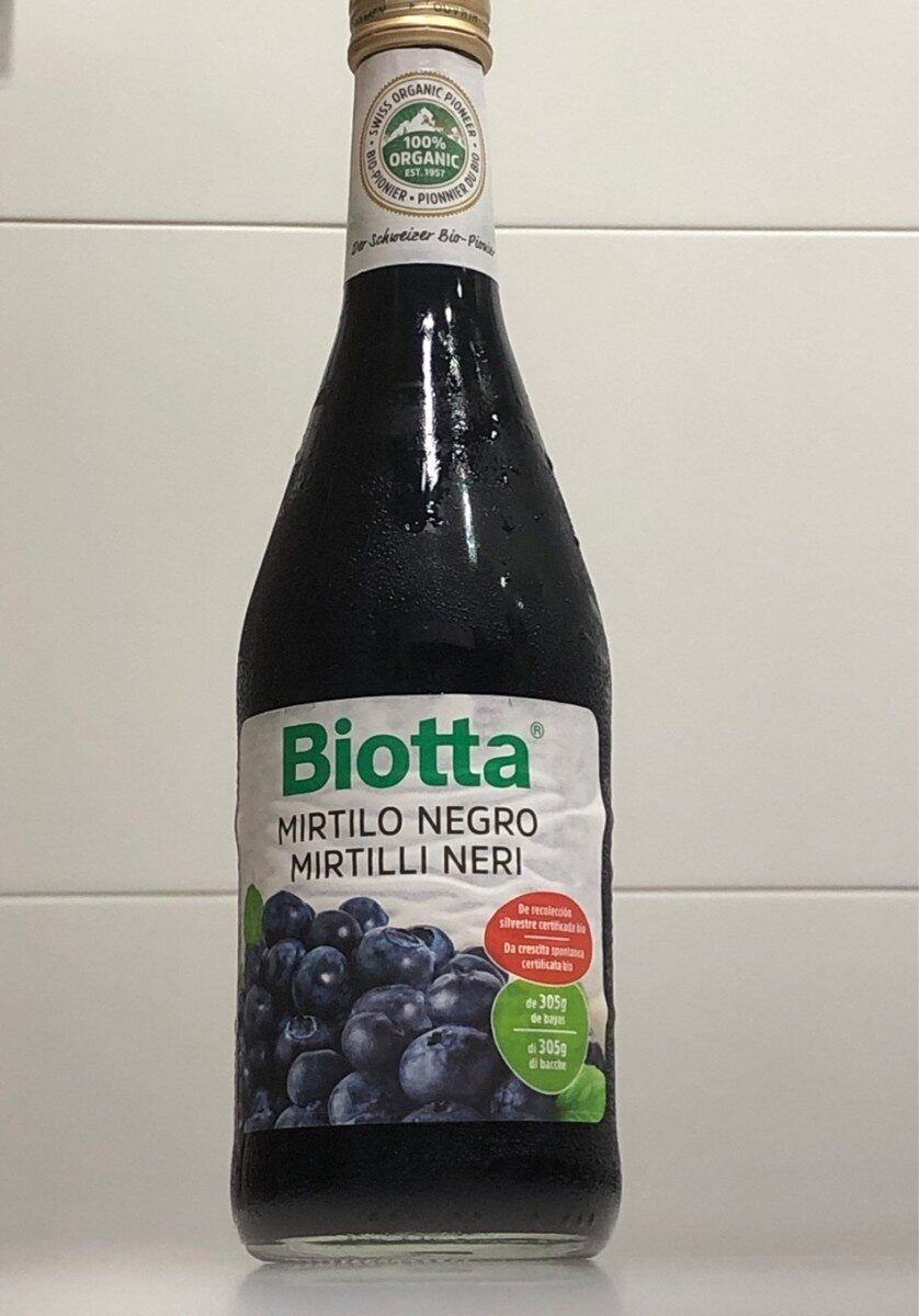 Mirtillo negro - Product - es