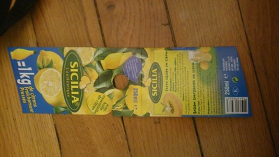 Citron de Sicile SICILIA original - Product