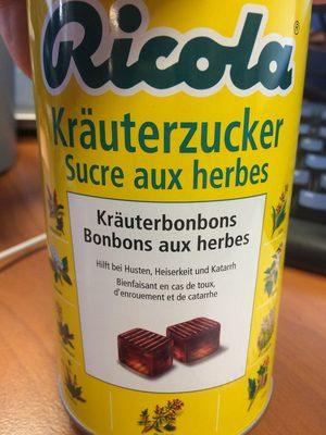 Sucre aux herbes - Produit - fr