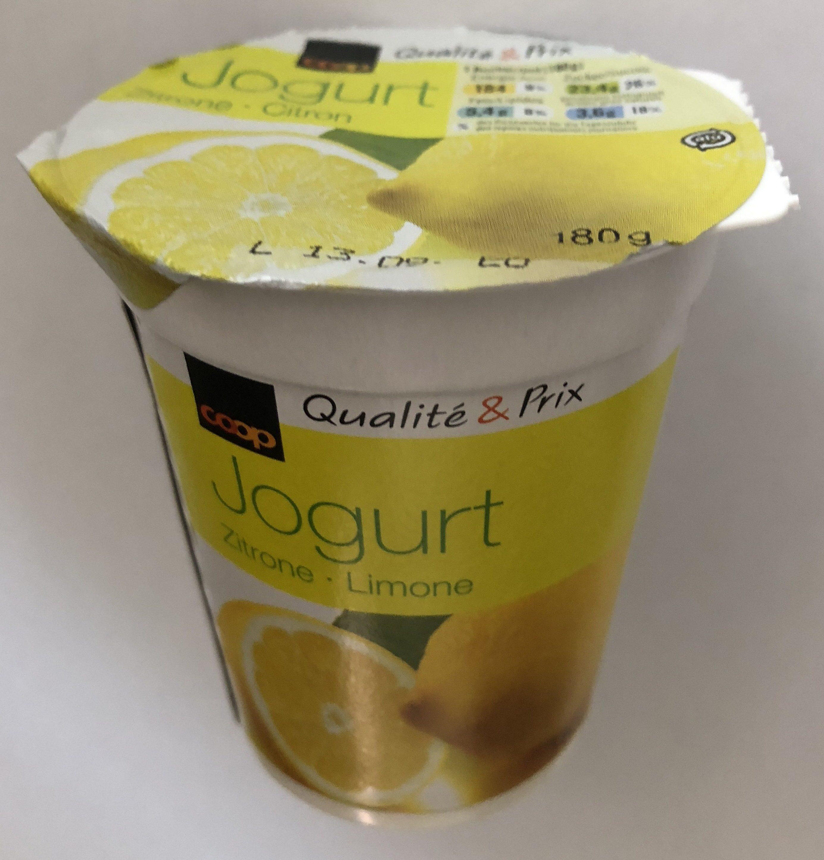 Yougurt au citron - Produit