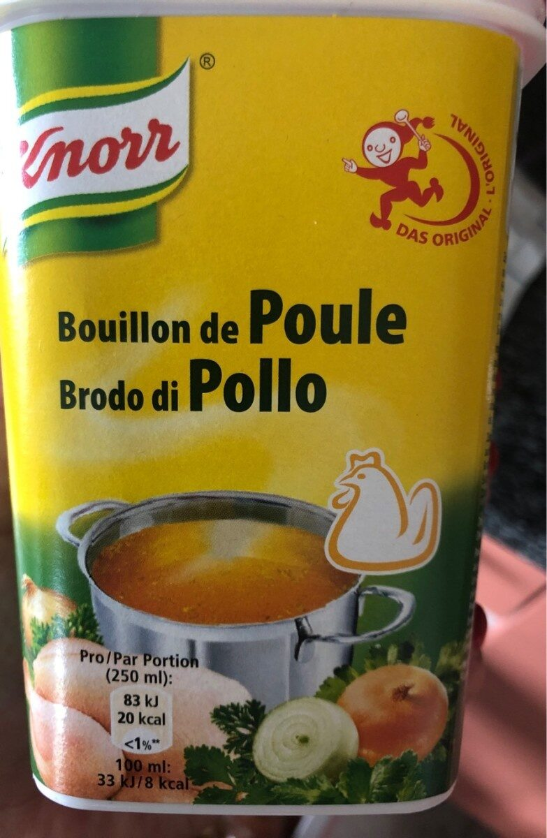 Knorr Hühner Bouillon - Product - fr