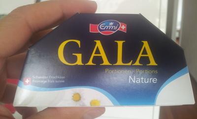 Gala portion nature le fromage frais suisse portion 80 gr x 3 portions - Emmi - 80 g - Product