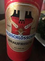 FELDSCHLÖSSCHEN BRAUFRISCH - Product