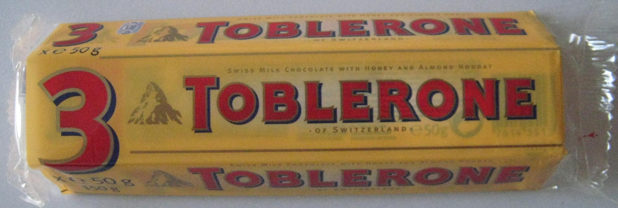 Toblerone (lot de 3 x 50 g) - Product
