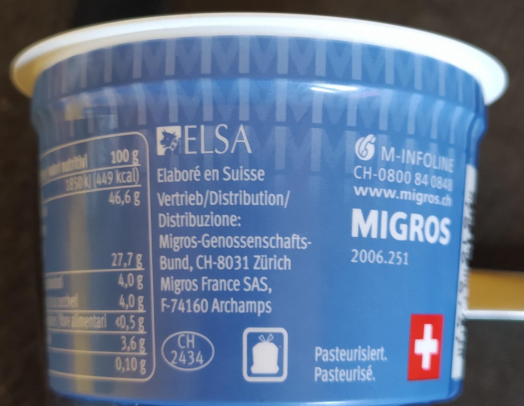 Mascarpone - Instruction de recyclage et/ou informations d'emballage - de