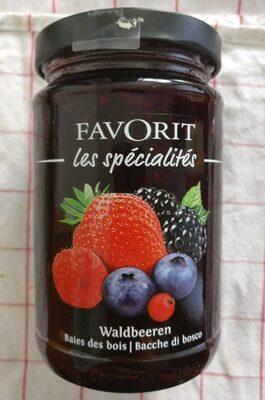 Favorit les spécialités baies des bois - Produit - fr