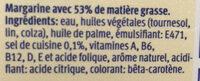 Margarine - Ingredients - fr