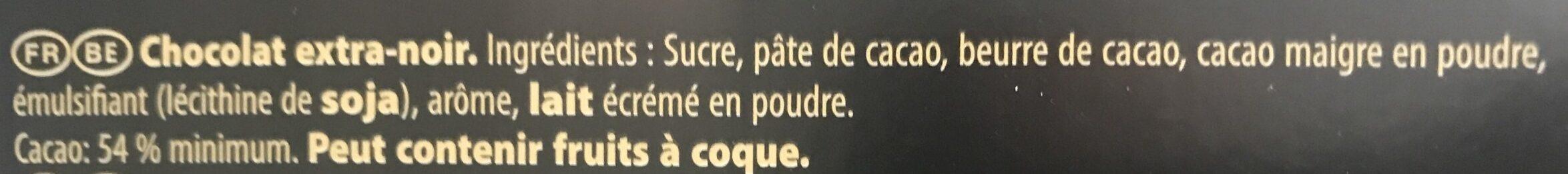 Mignonnette noir de noir - 成分 - fr