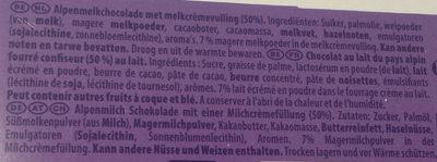 Milkinis - Inhaltsstoffe