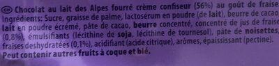 Kraft Foods Milka Alpesi Tejcsokol?d? - Epres Joghurtos 300 g - Product