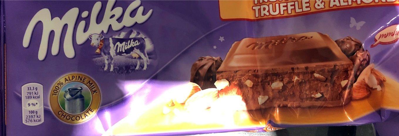 Chocolate con leche y almendras - Produit - es
