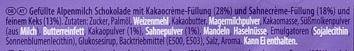 Milka Schoko & Keks - Zutaten