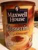 Maxwell house cappuccino - Product