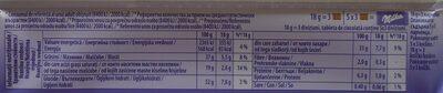 Milka Cremă cu migdale caramelizate - Informations nutritionnelles - ro