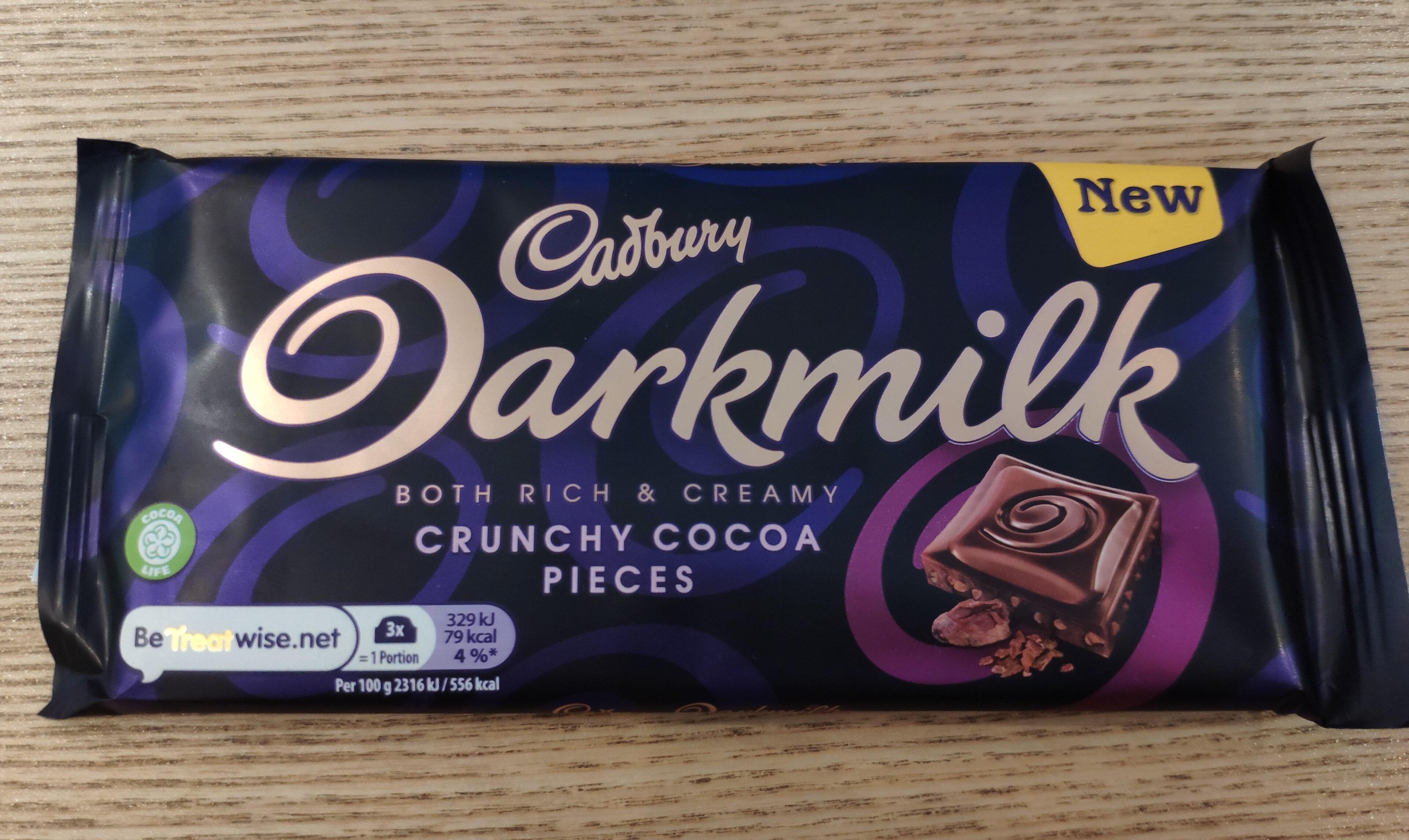 Darkmilk Crunchy Cocoa Pieces Bar - Produit - en