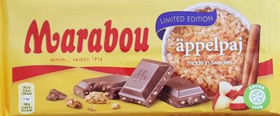 Marabou Äppelpaj - Limited Edition - Produit - sv