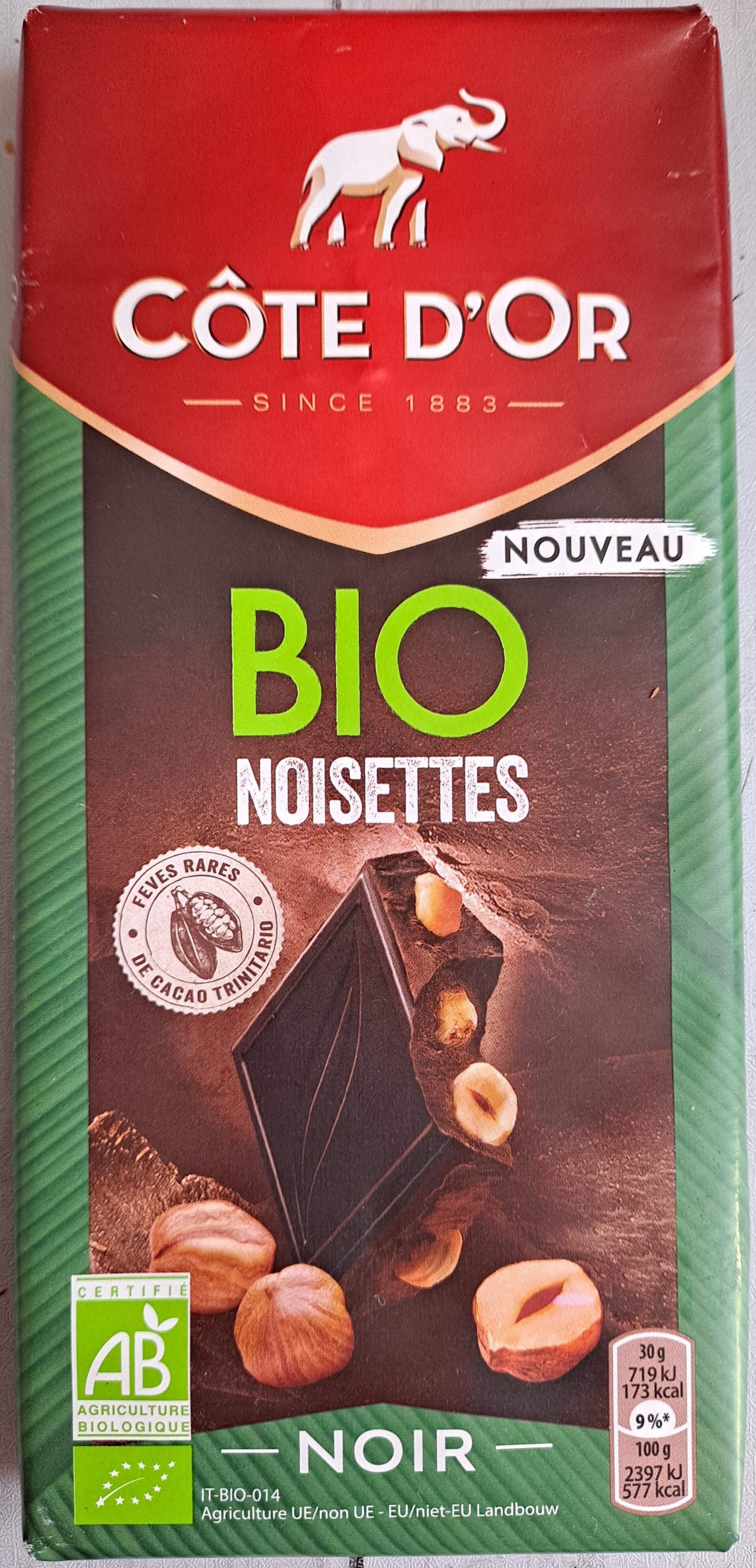 Bio Noisettes Noir - Produit - fr