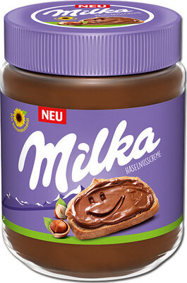 Milka Haselnusscreme - نتاج - de
