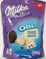Oreo Minis White - Produit - de