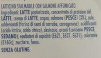 Latticino spalmabile con formaggio fresco - Ingredients - it