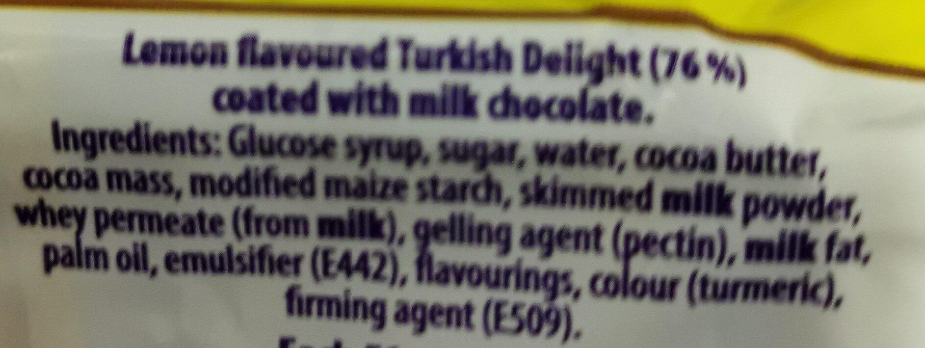 turkish delight - Ingredients - en