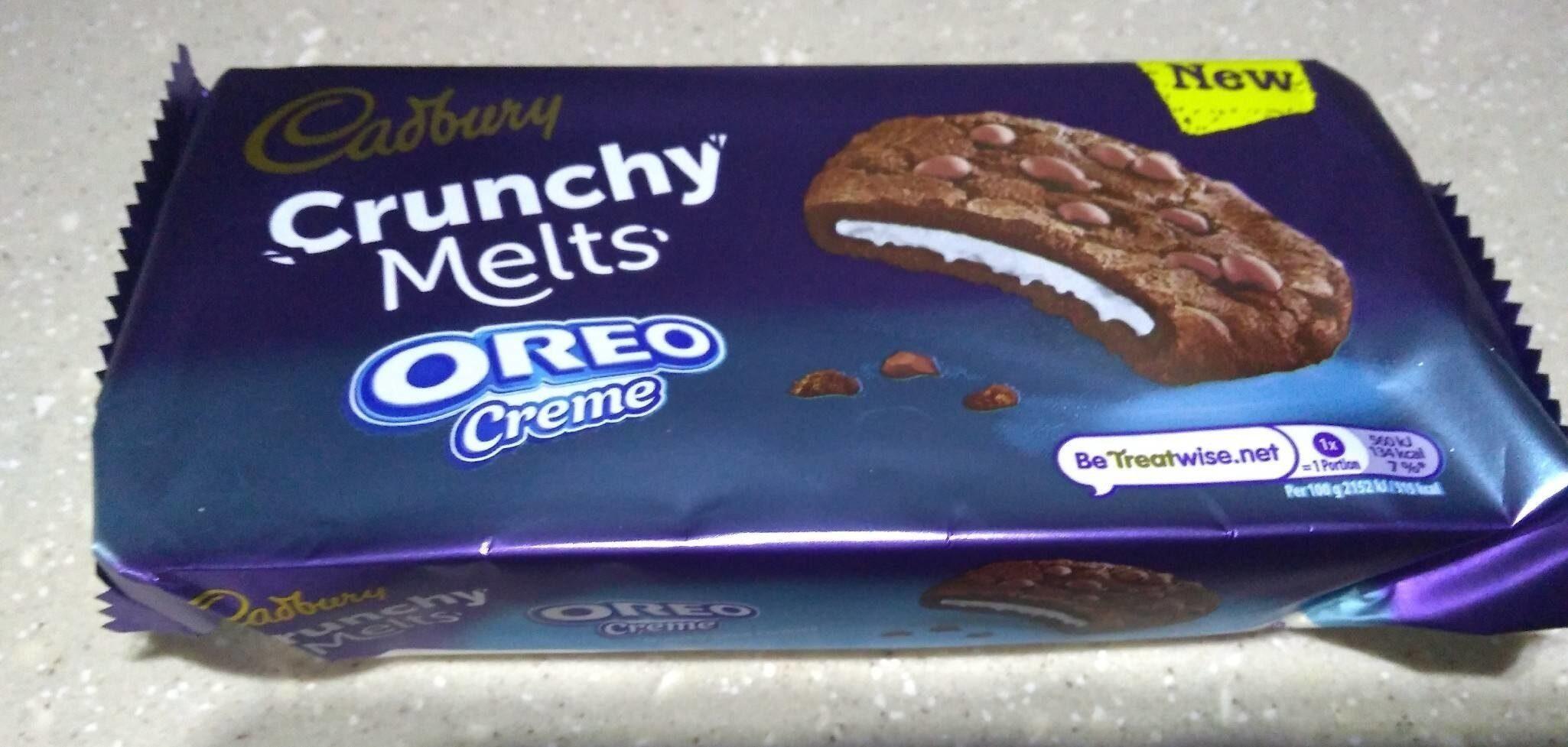 Crunchy melts Oreo creme - Prodotto - en