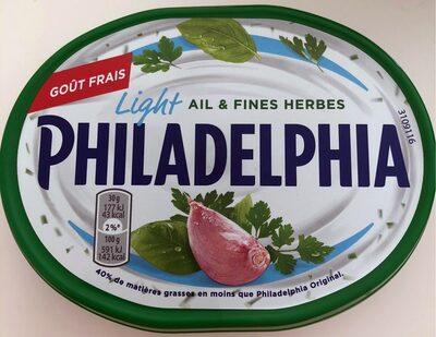 Philadelphia light ail & fines herbes - Prodotto - fr