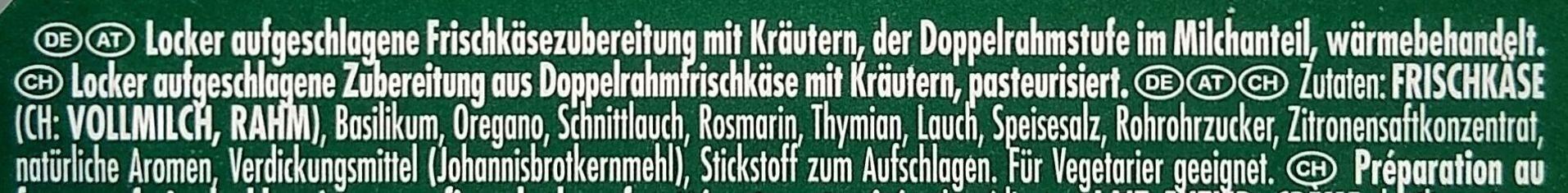 Intense Gourmet Kräuter - Zutaten - de