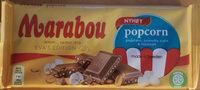 Marabou - Popcorn - Popcorn, crunchy corn & havssalt - Produit - sv