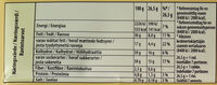 Marabou - Popcorn - Popcorn, crunchy corn & havssalt - Informations nutritionnelles - sv