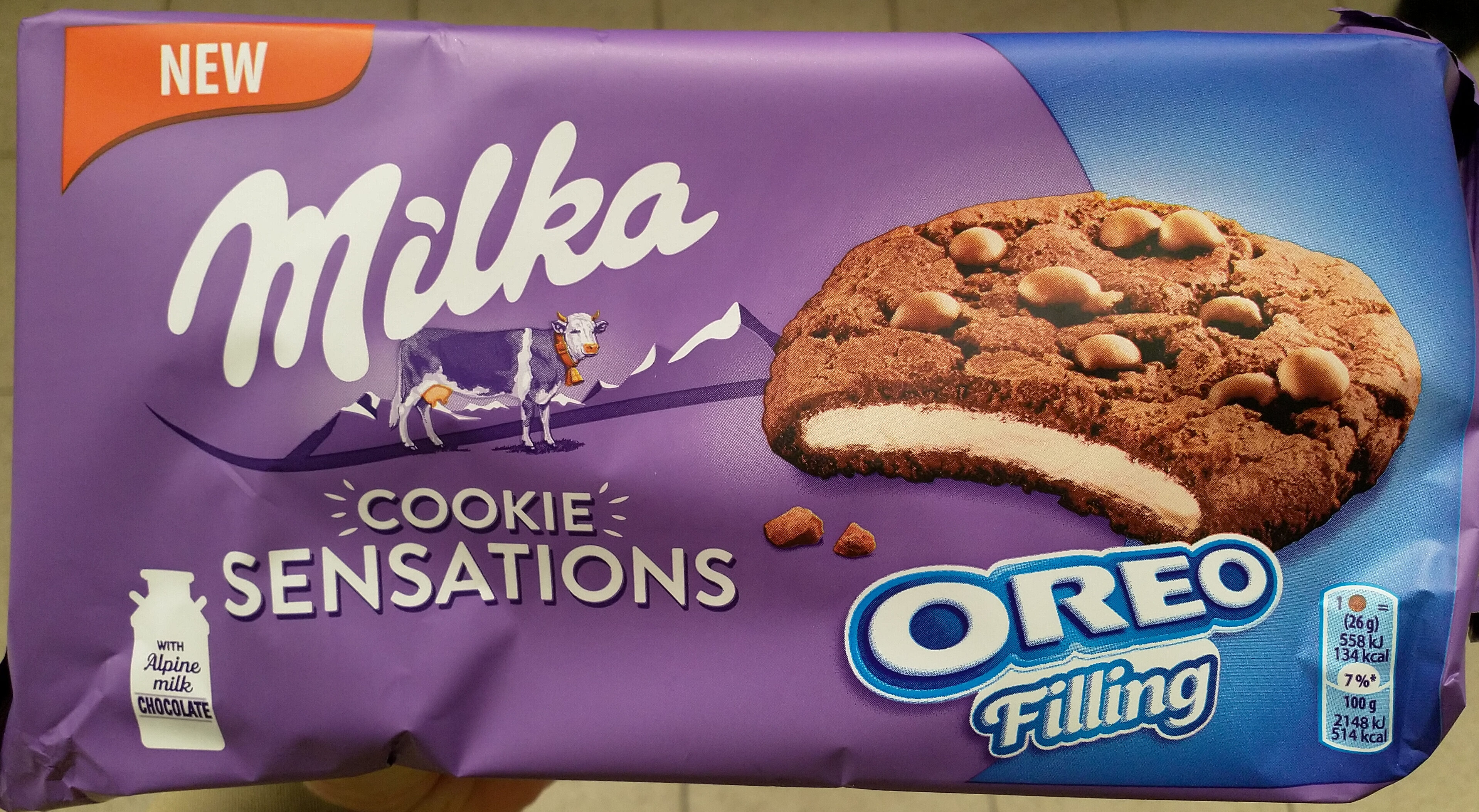 Cookie sensation oreo filling - Product - fr