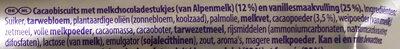 Cookie sensation oreo filling - Ingrediënten - nl