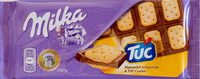 Alpenmilch Schokolade & TUC Cracker - Produit - fr